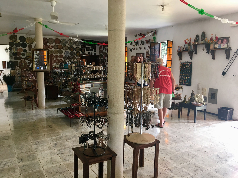 The hacienda shop.