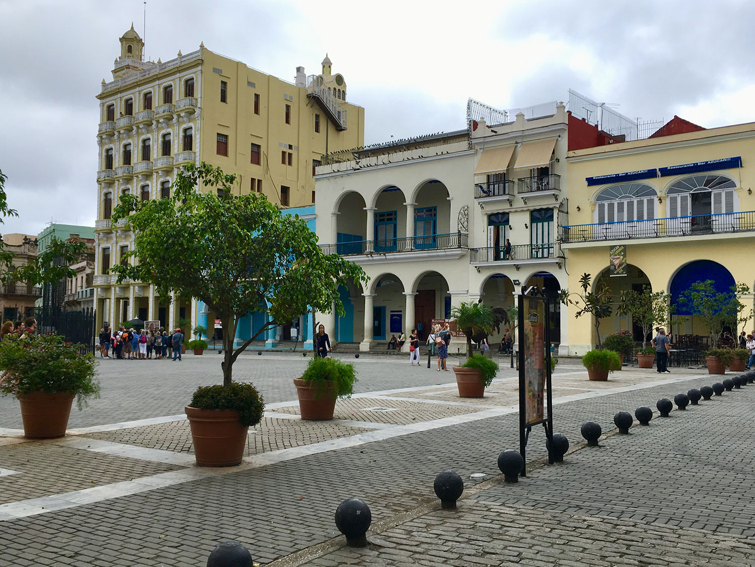 Plaza Vieja was a witness of executions, processions and bullfights.