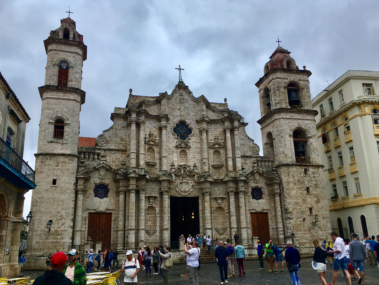 Cathedral of San Cristóbal.