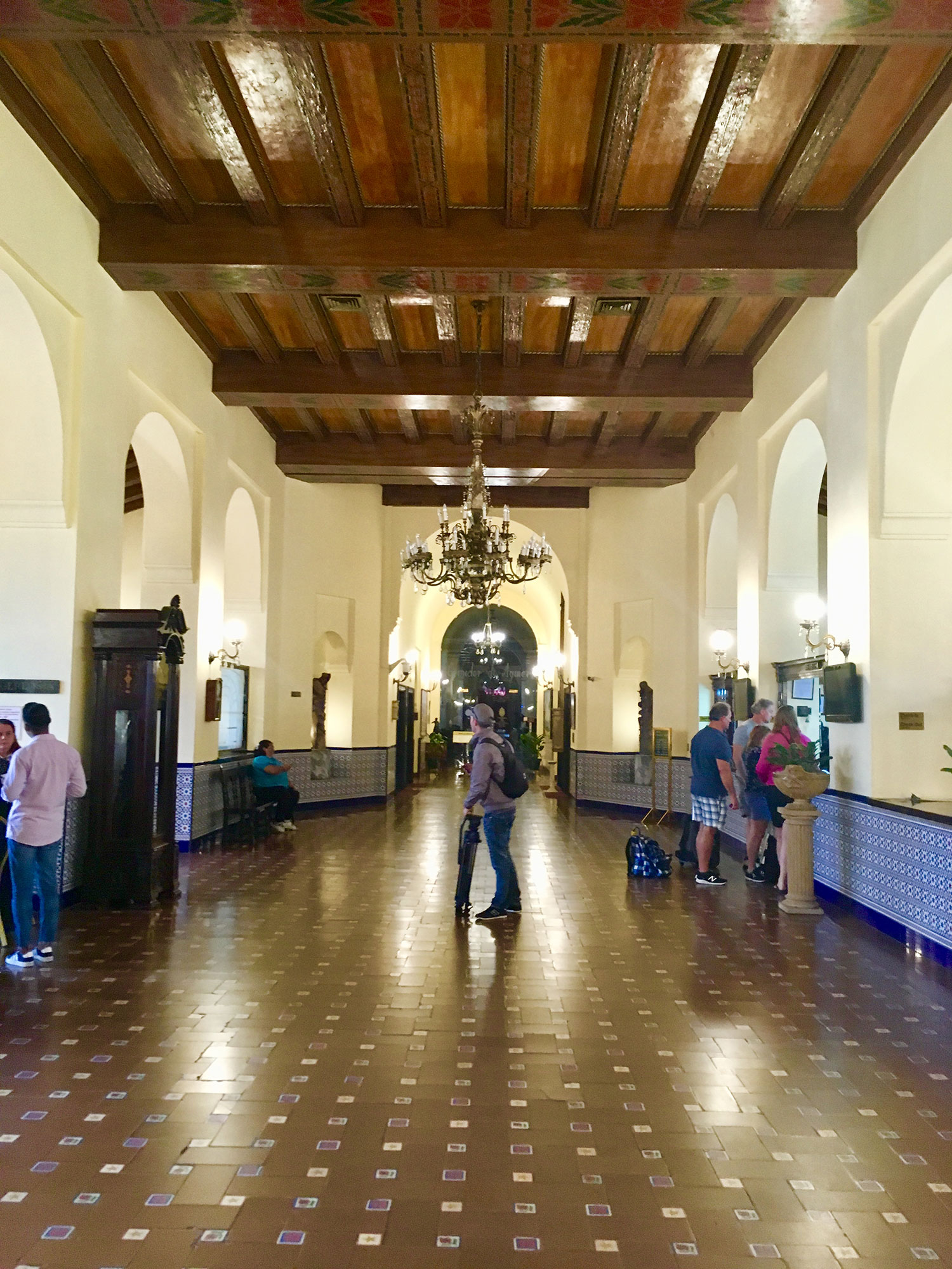 The entrance hall, Hotel Nacional.