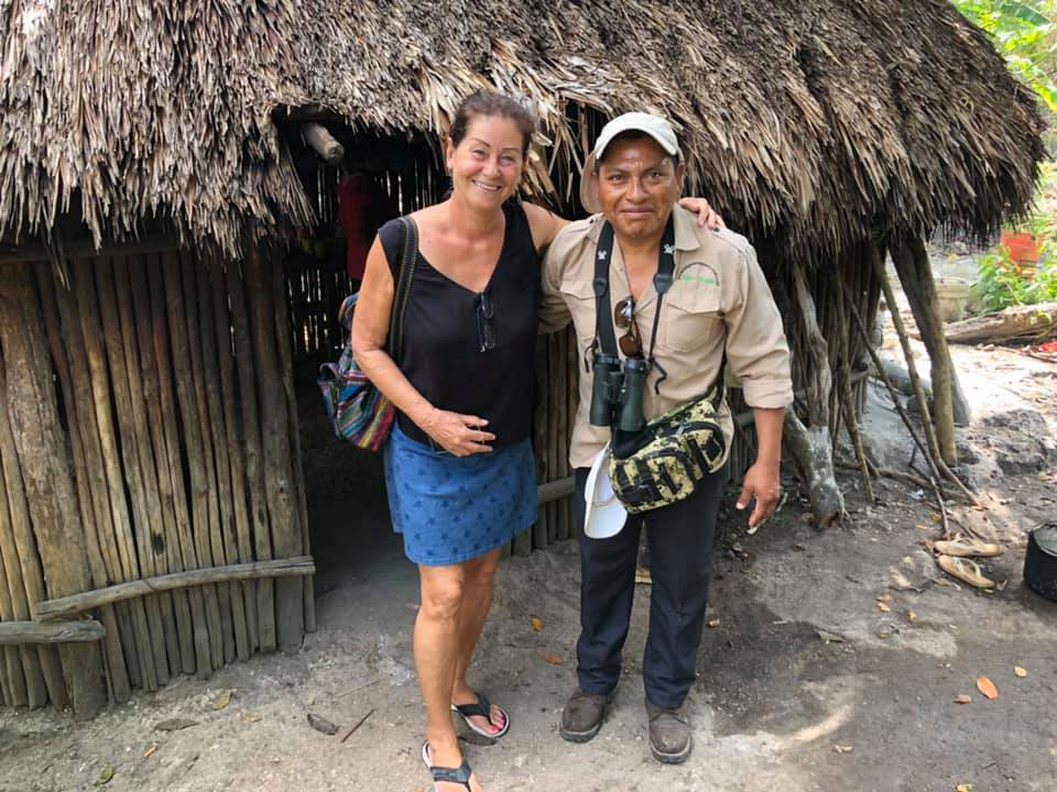 With Pastor at Chunyaxché indigenous village. 2018.