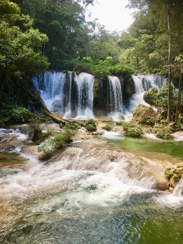 Waterfalls Cascadas de Moctuniha.