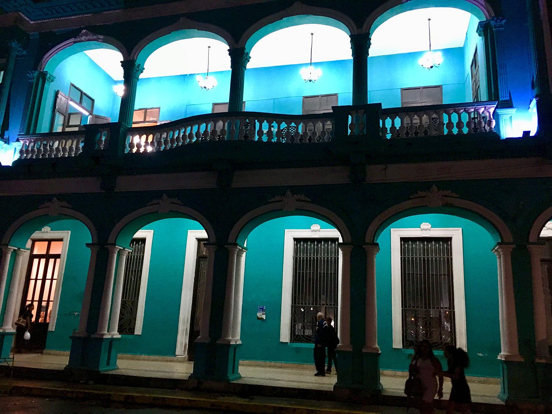 The Cultural House of Santa Clara.