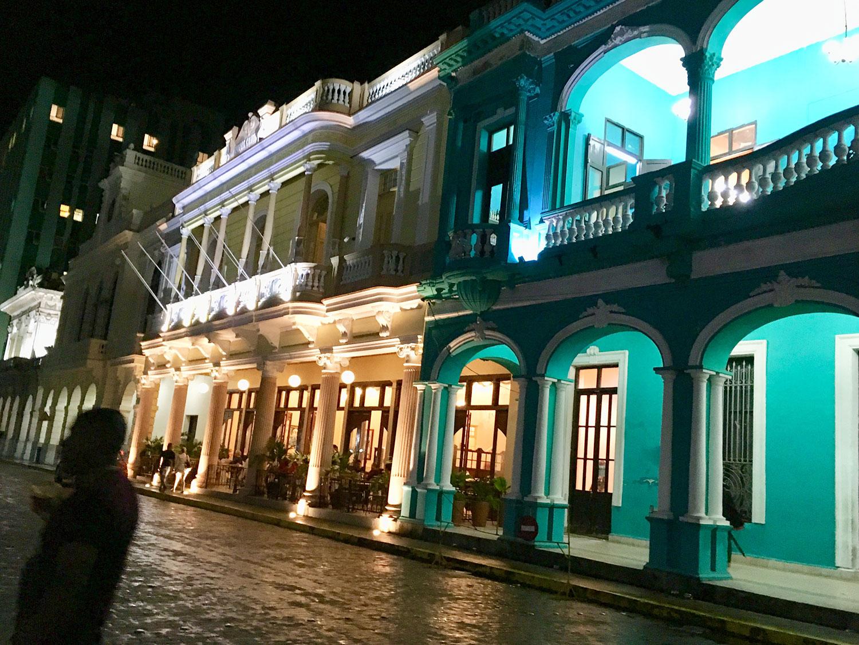 Street in Parque Vidal, the heart of Santa Clara city.
