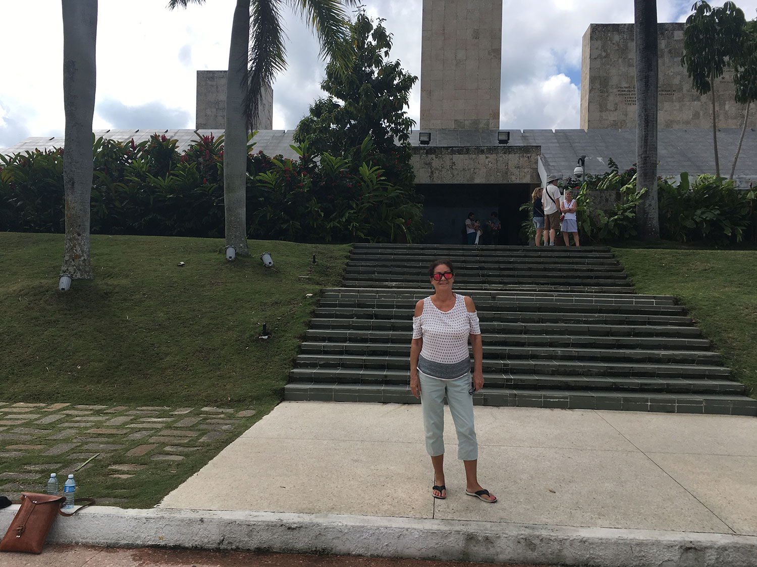 At Che Guevara Mausoleum and Museum.
