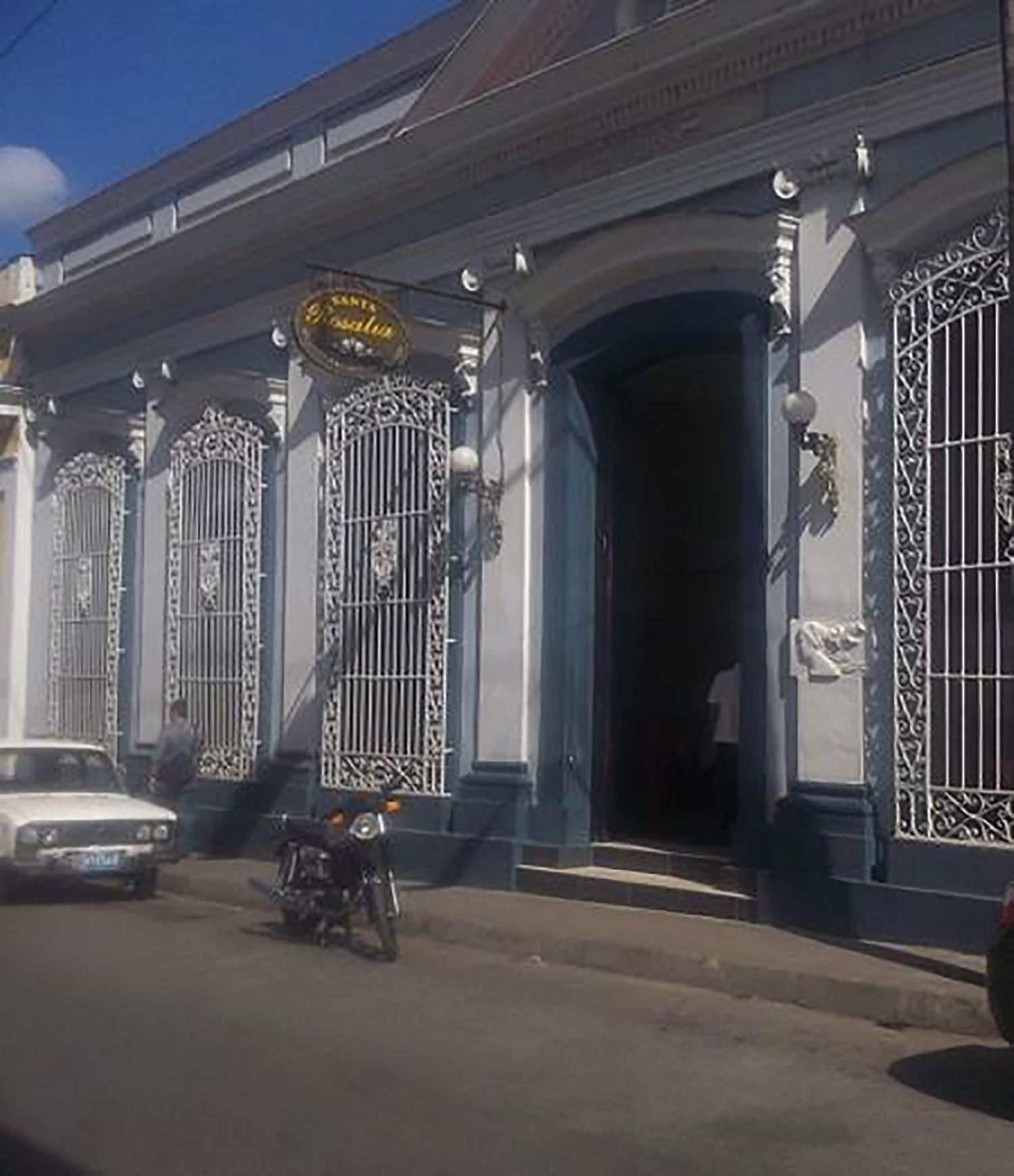 Santa Rosalía restaurant.