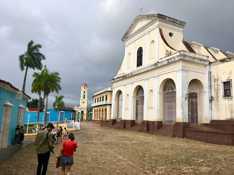 The main church on the Plaza Mayor.