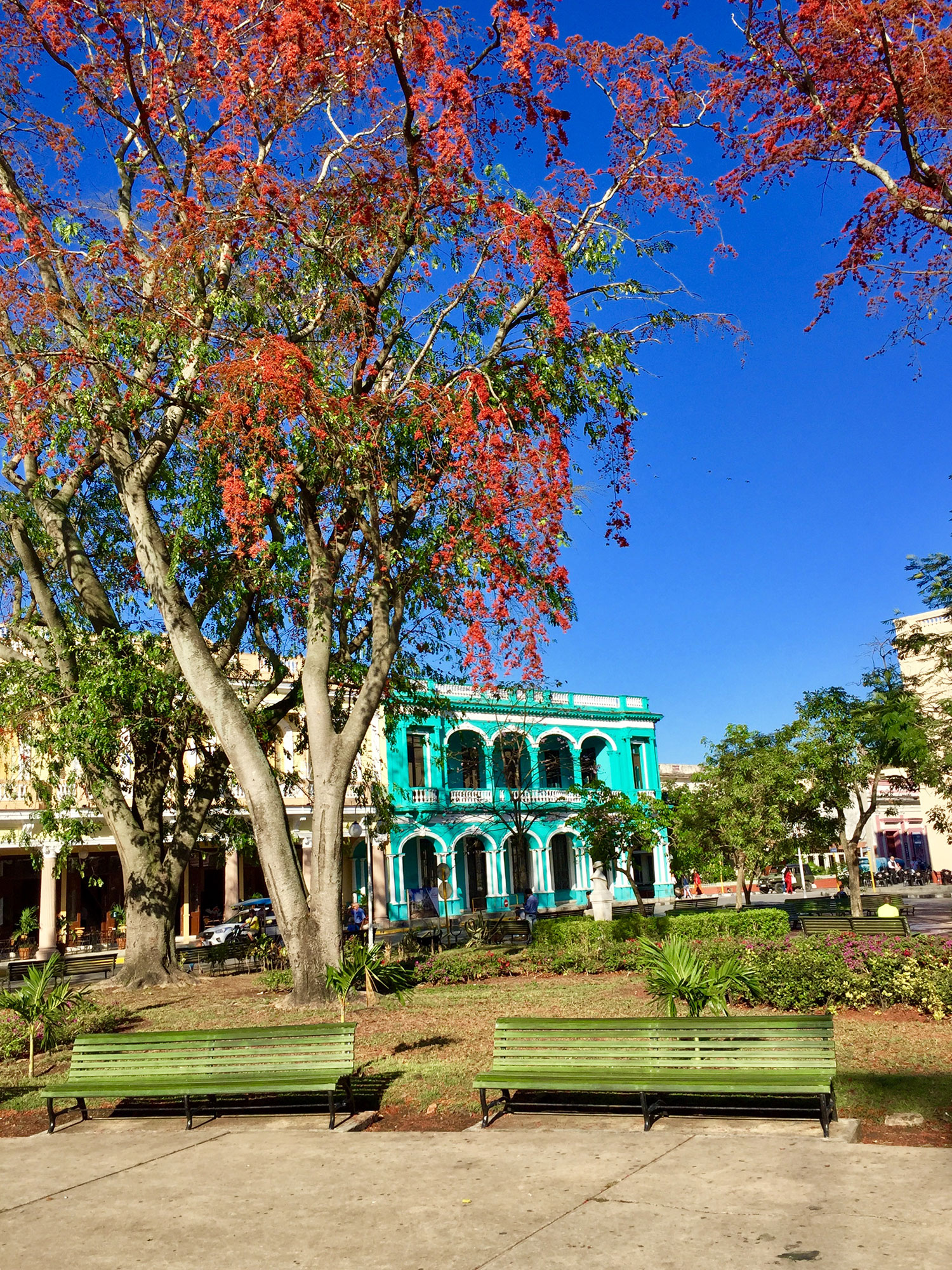 Parque Vidal at Santa Clara.
