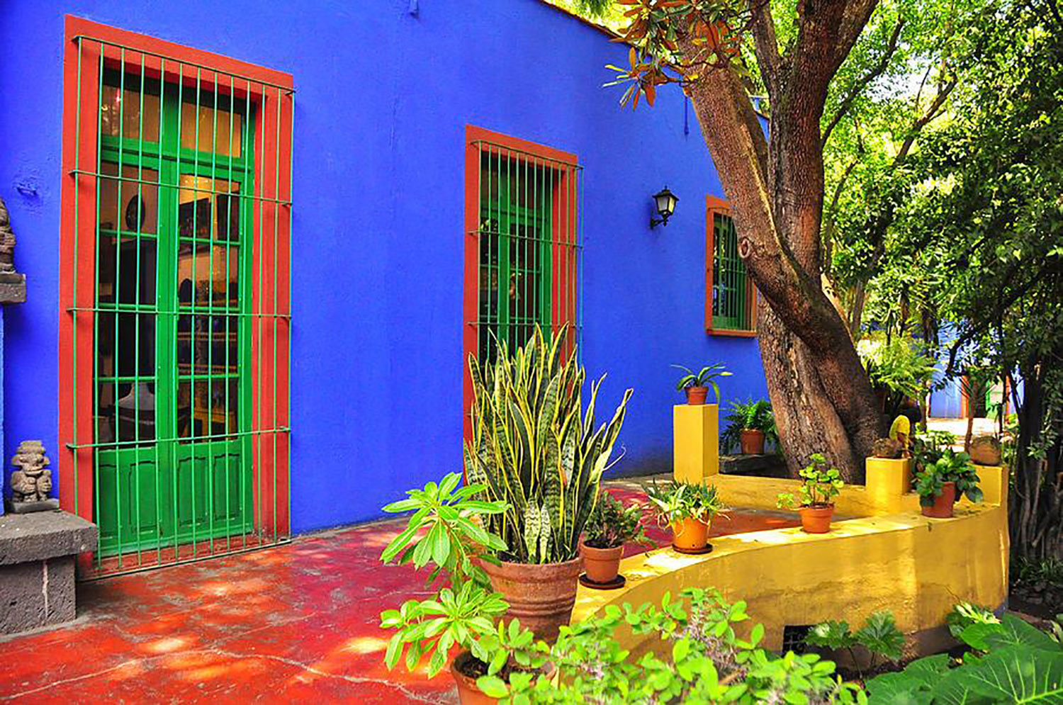 Frida's Blue House in Mexico City.