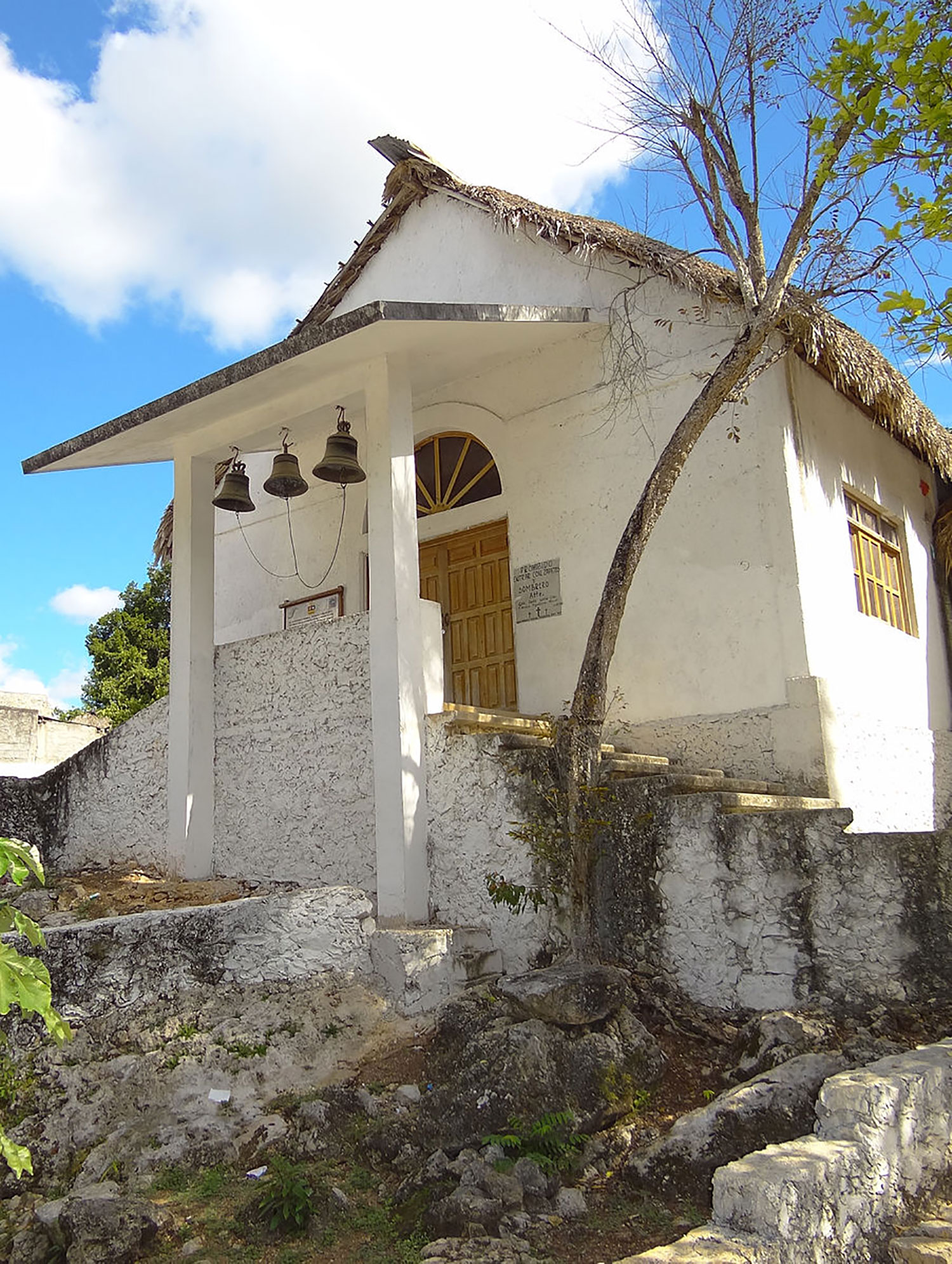 Sanctuary of the Speaking Cross - Felipe Carrillo Puerto (formerly Chan Santa Cruz):  commons.wikimedia.org .