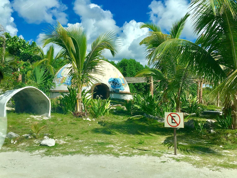 Temazal (sweat bath) at Blue Kay Eco Resort.