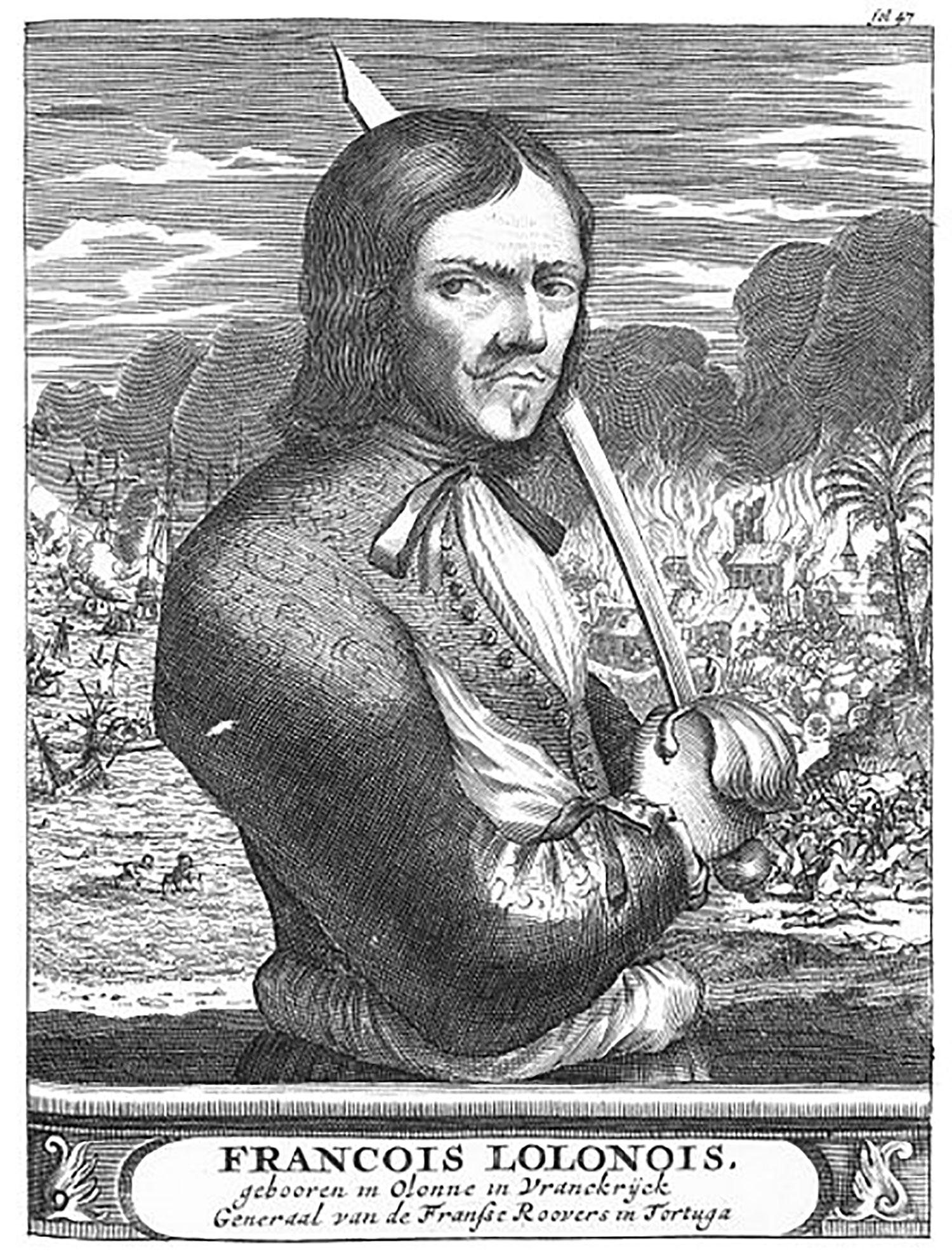 Buccaneer François l'Olonnais:  wikipedia.org .