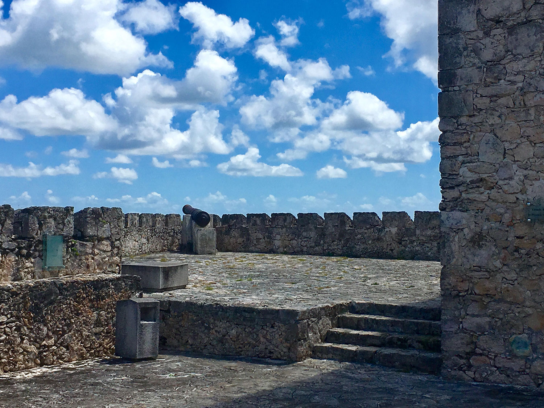 Enjoying the view of Punta Gorda.