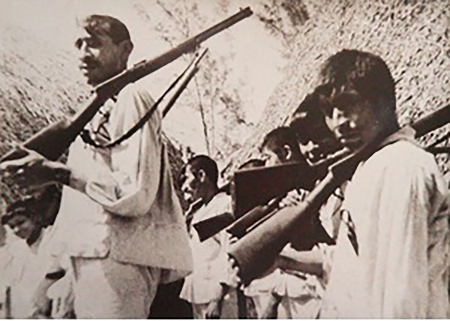 The Caste War Maya soldiers, from the Yucatan Times magazine.