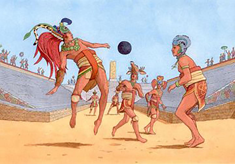 Ball players, by  Jeffrey Edel . Source:  pinterest.com .