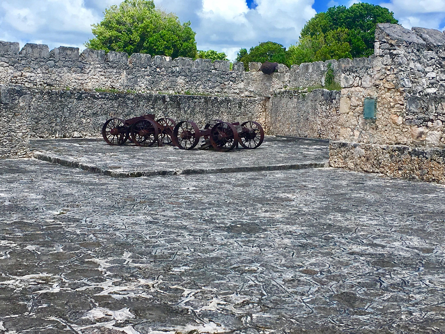 The San Felipe Fortress in Bacalar.