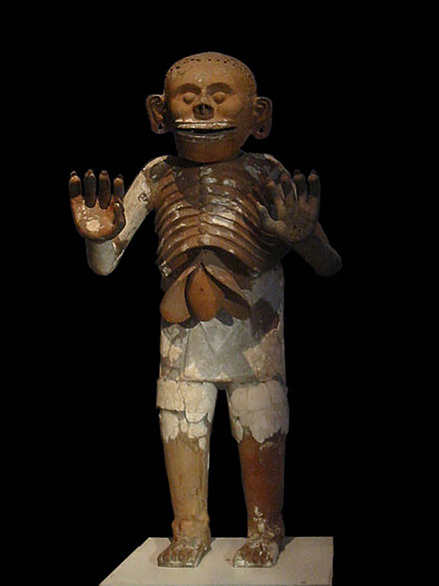 Mictlantecuhtli, Aztec God of Rain:  wikiwand.com .