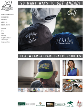 """""""We feel like we accomplished our goals as the website now has a much fresher, cleaner look, which is precisely how we present the brand at trade shows and in our catalogs"""".    -Chuck Lord, Chief Creative Officer, AHEAD."""