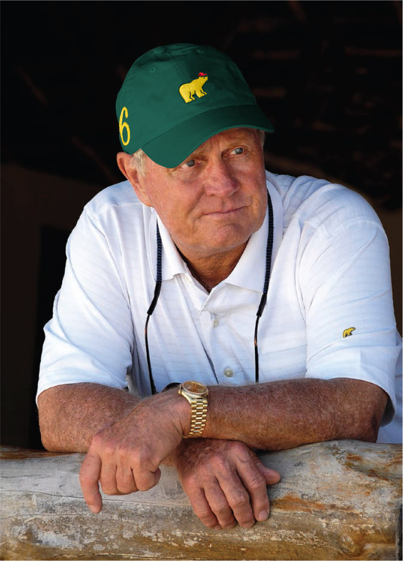 """""""These caps are a wonderful tribute to Jack's distinguished career and his focus on the majors, and we thank the team at AHEAD for turning concept into reality.""""    -Andy O'Brien; The Nicklaus Companies"""