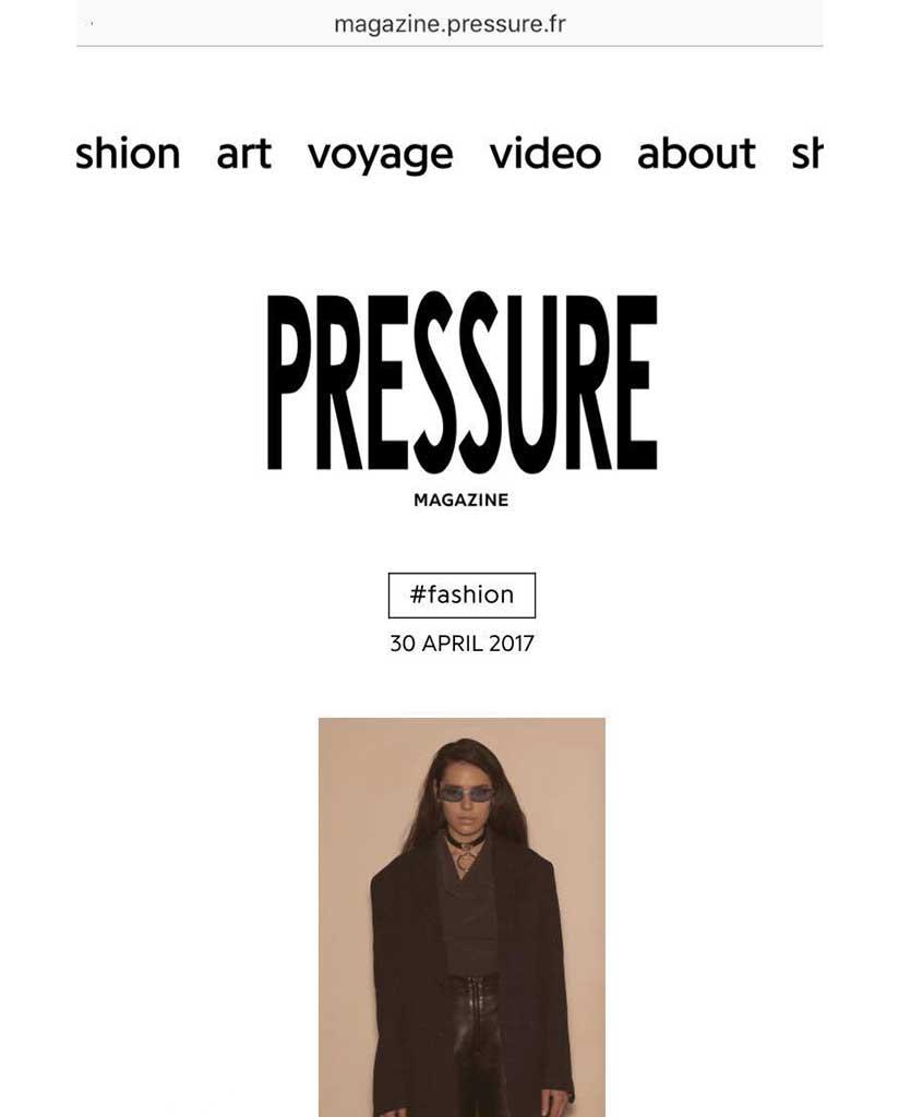 PRESSURE MAGAZINE - MAY 2017