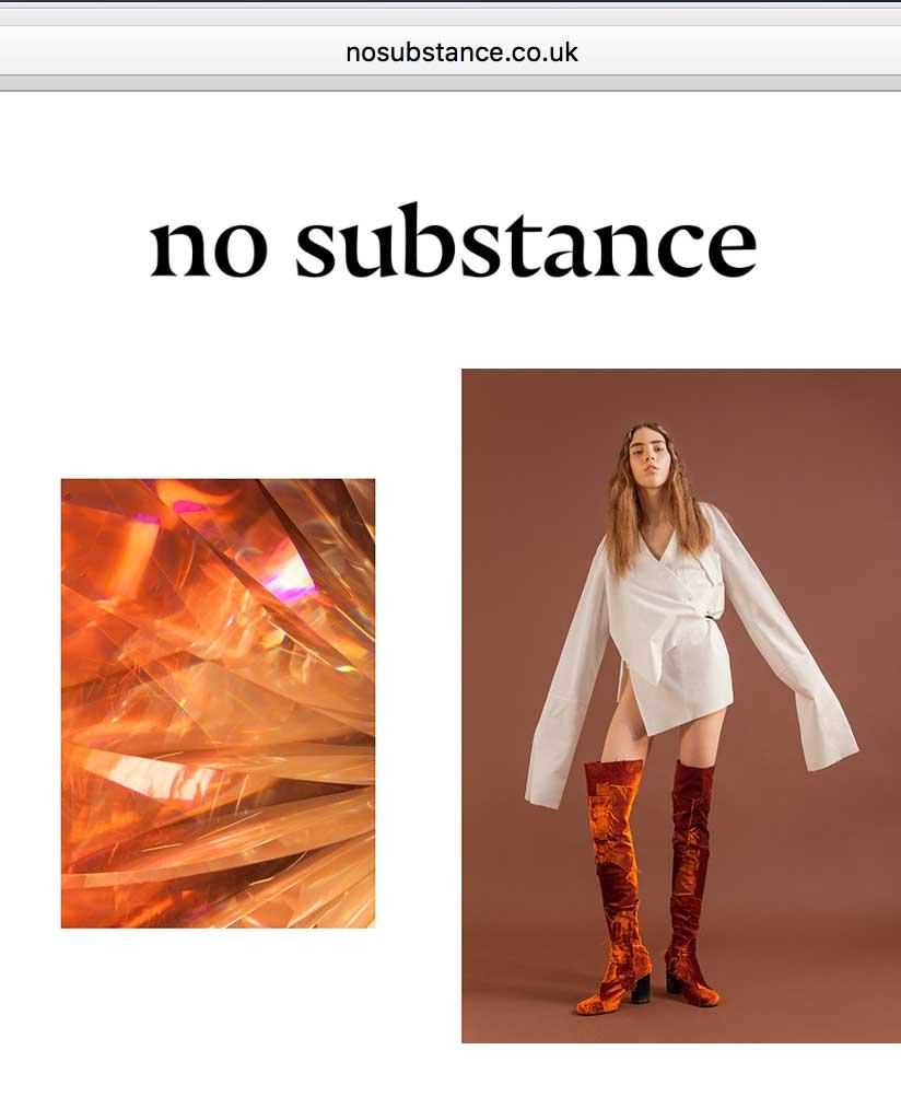 NO SUBSTANCE MAGAZINE -   JULY 2017