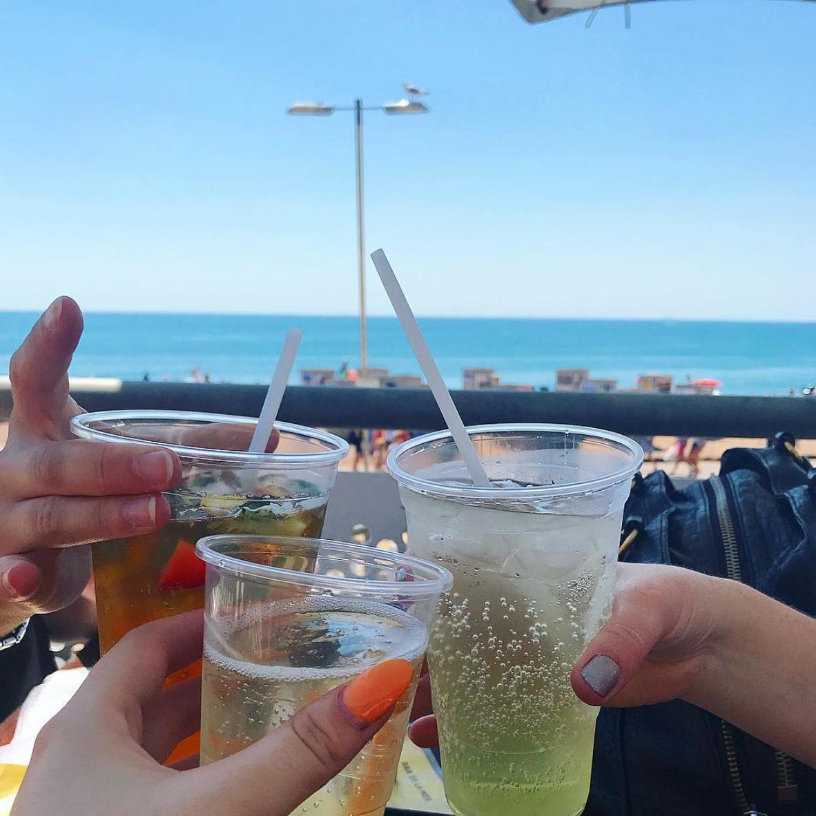 brighton girl problems interview beach drinks