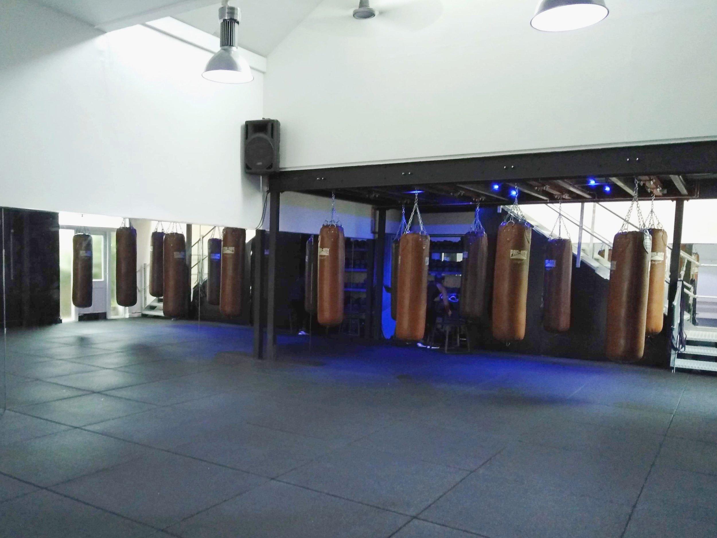 the box fitness studio