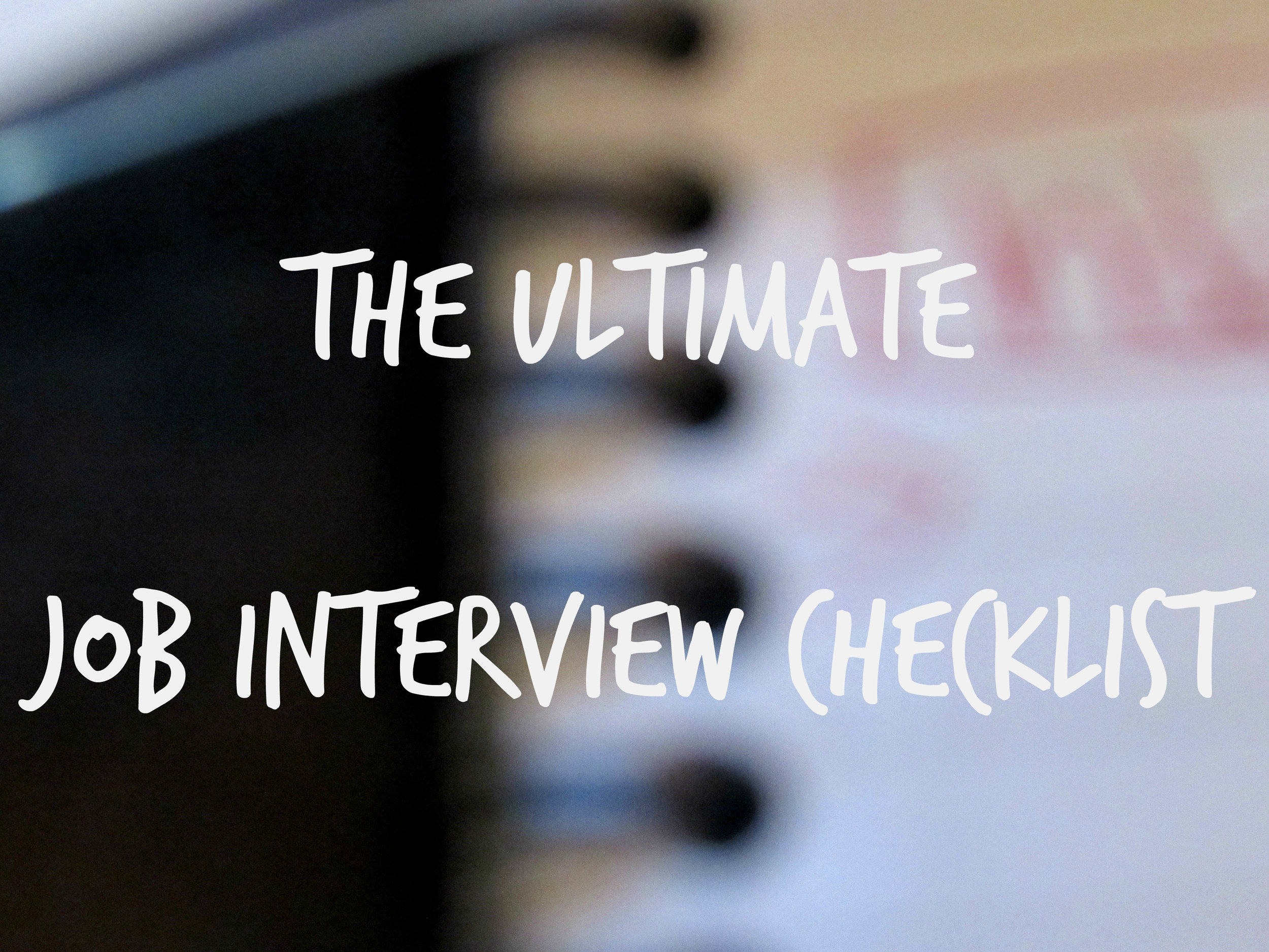 how to ace any job interview