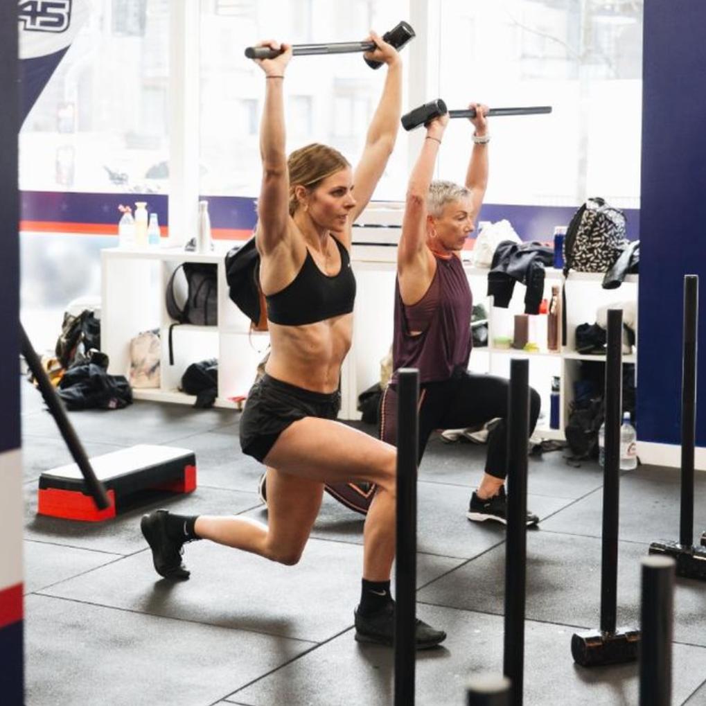 f45 fitness studio brighton girl