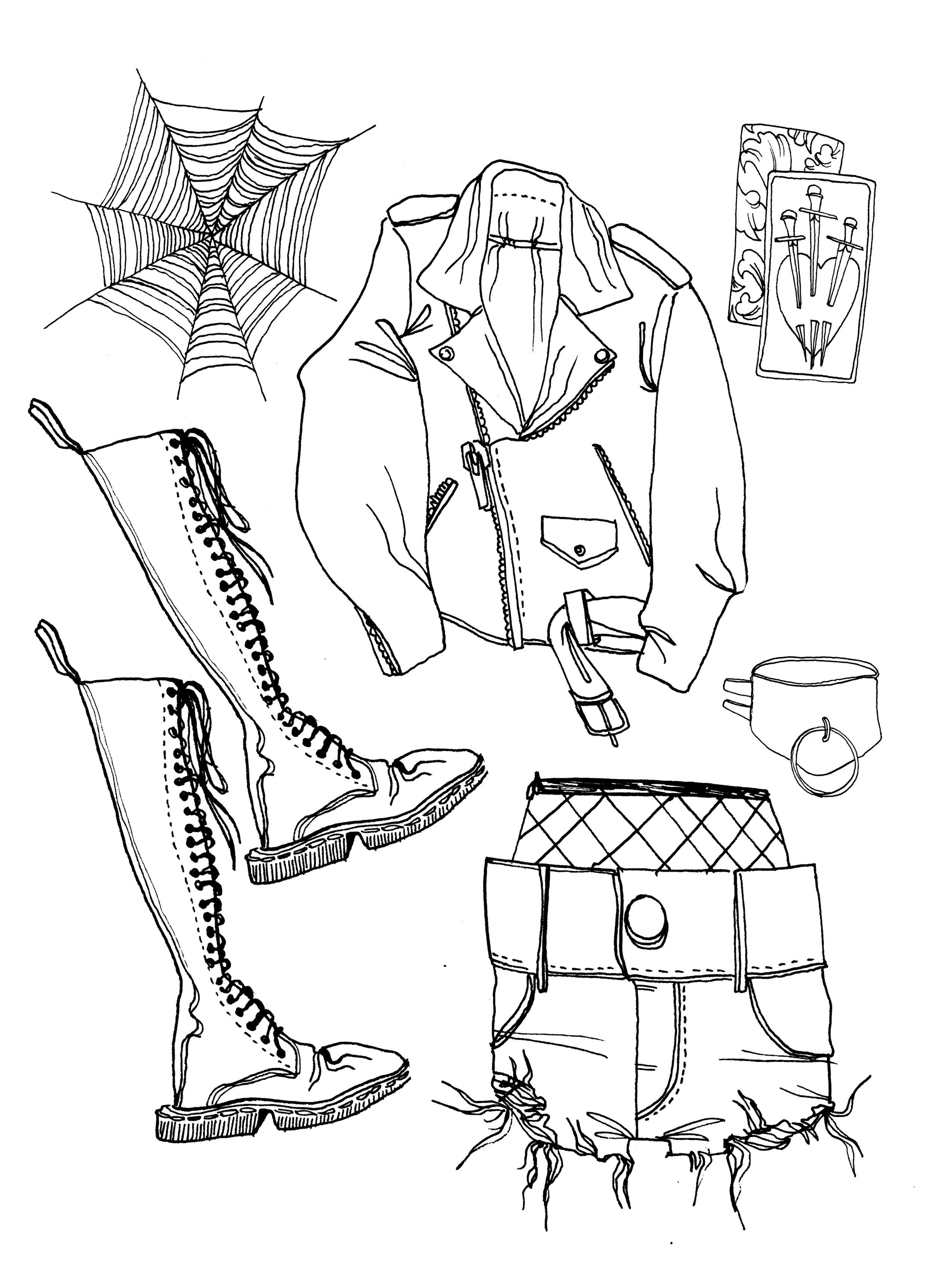 The Goth Galz Style interpreted by Amy Leonard