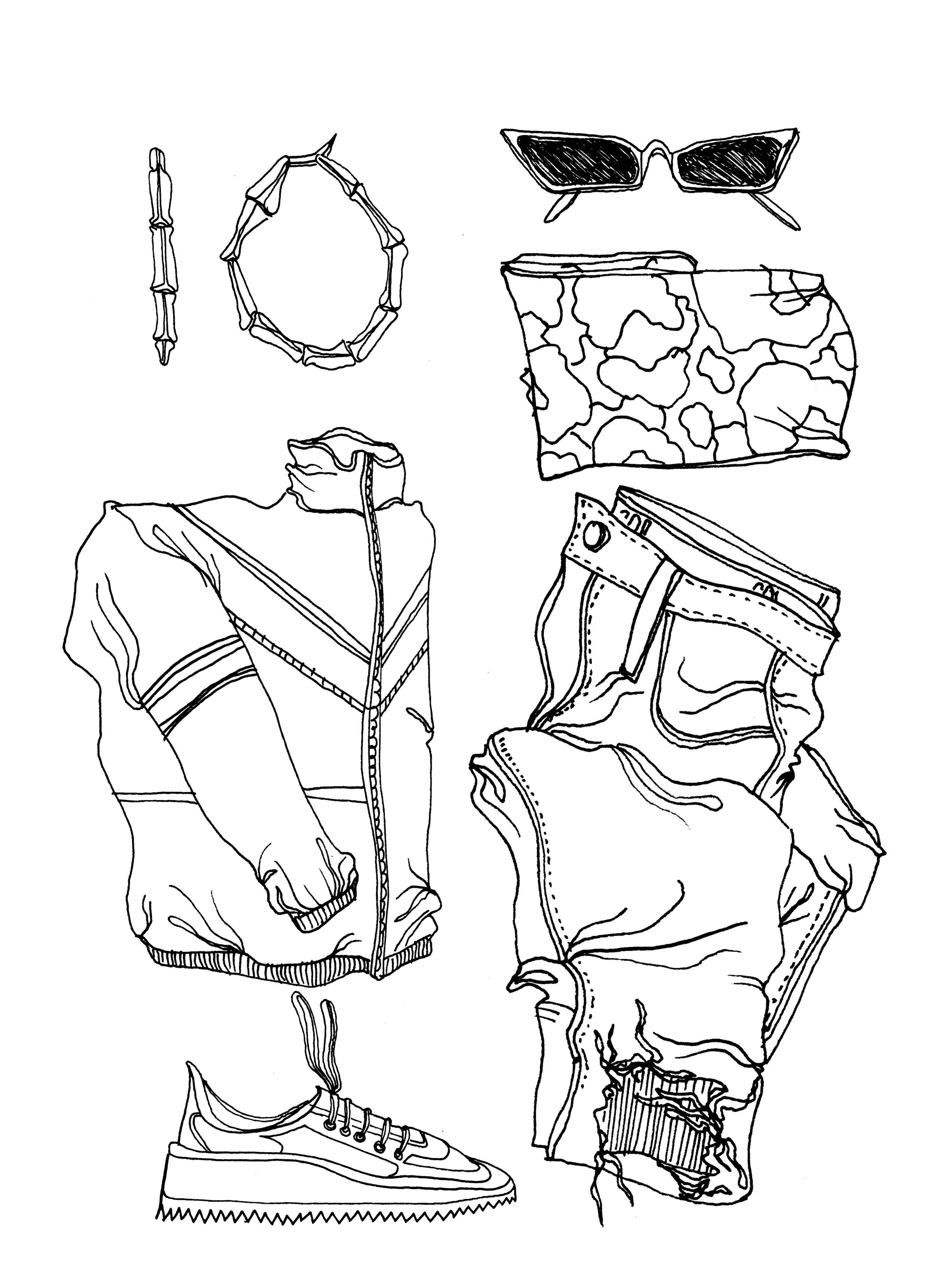 The Streetwear Diva Style interpreted by Amy Leonard
