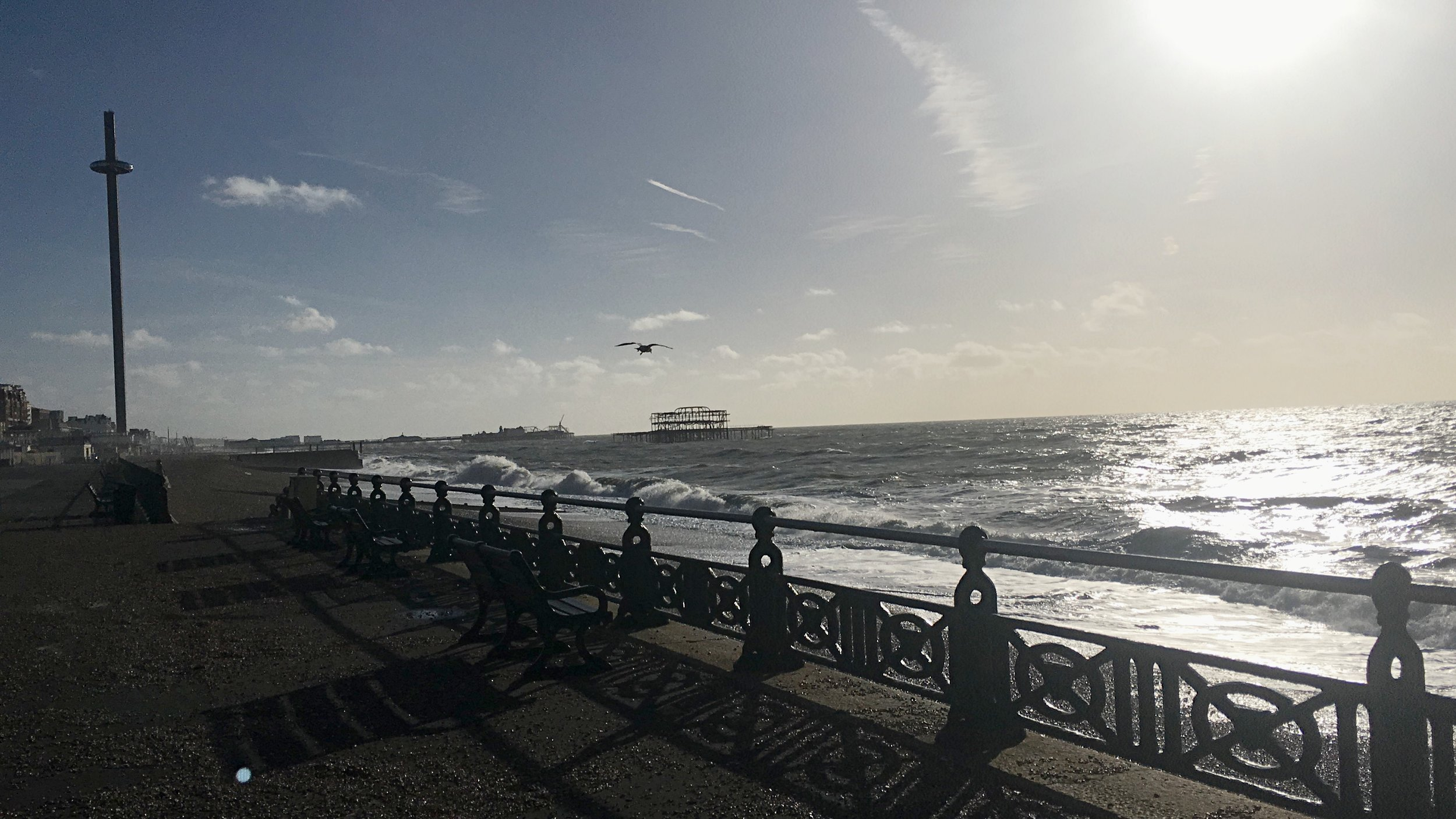 brighton seafront winter mental health