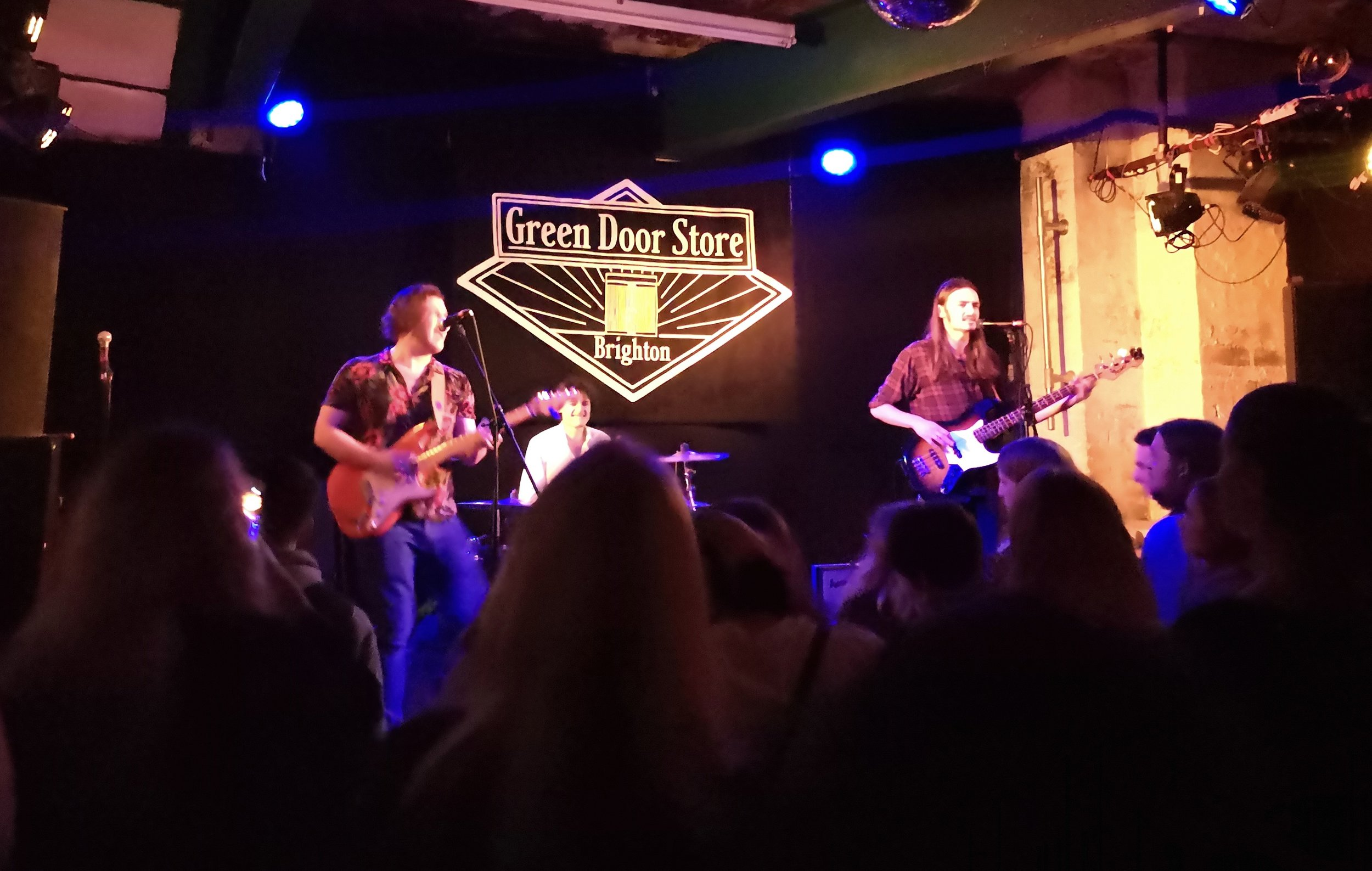 bluebound band brighton green door store review music gig