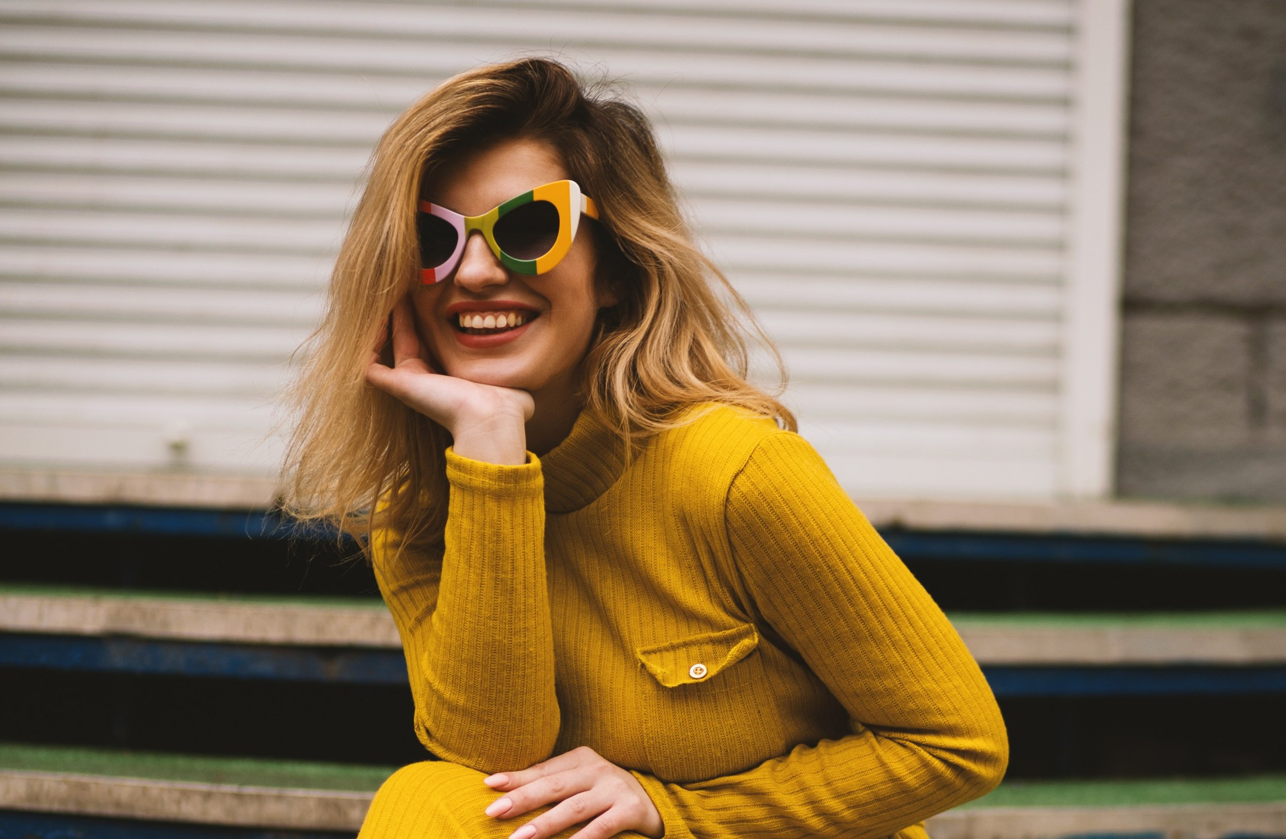 style confidence brighton girl