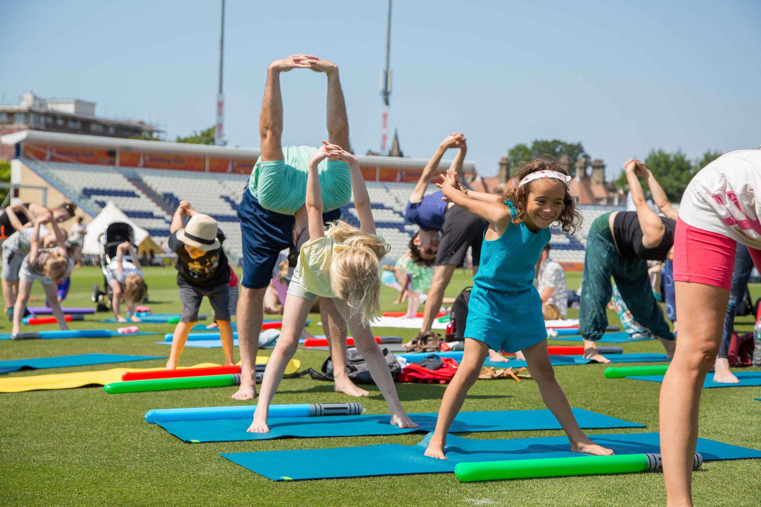 yoga brighton girl festival 2019