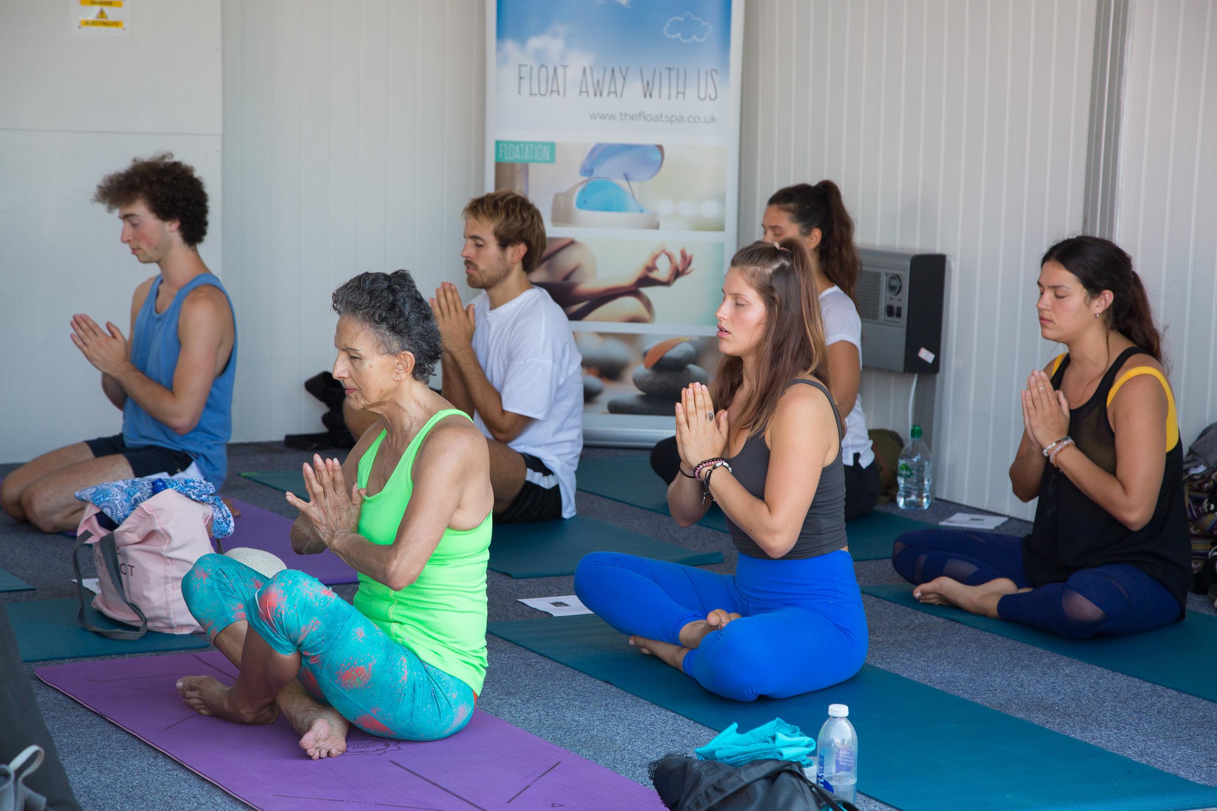 brighton girl yoga festival 2019