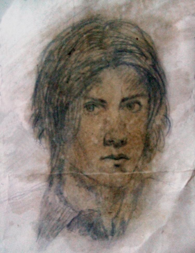 Self Portrait aged 16