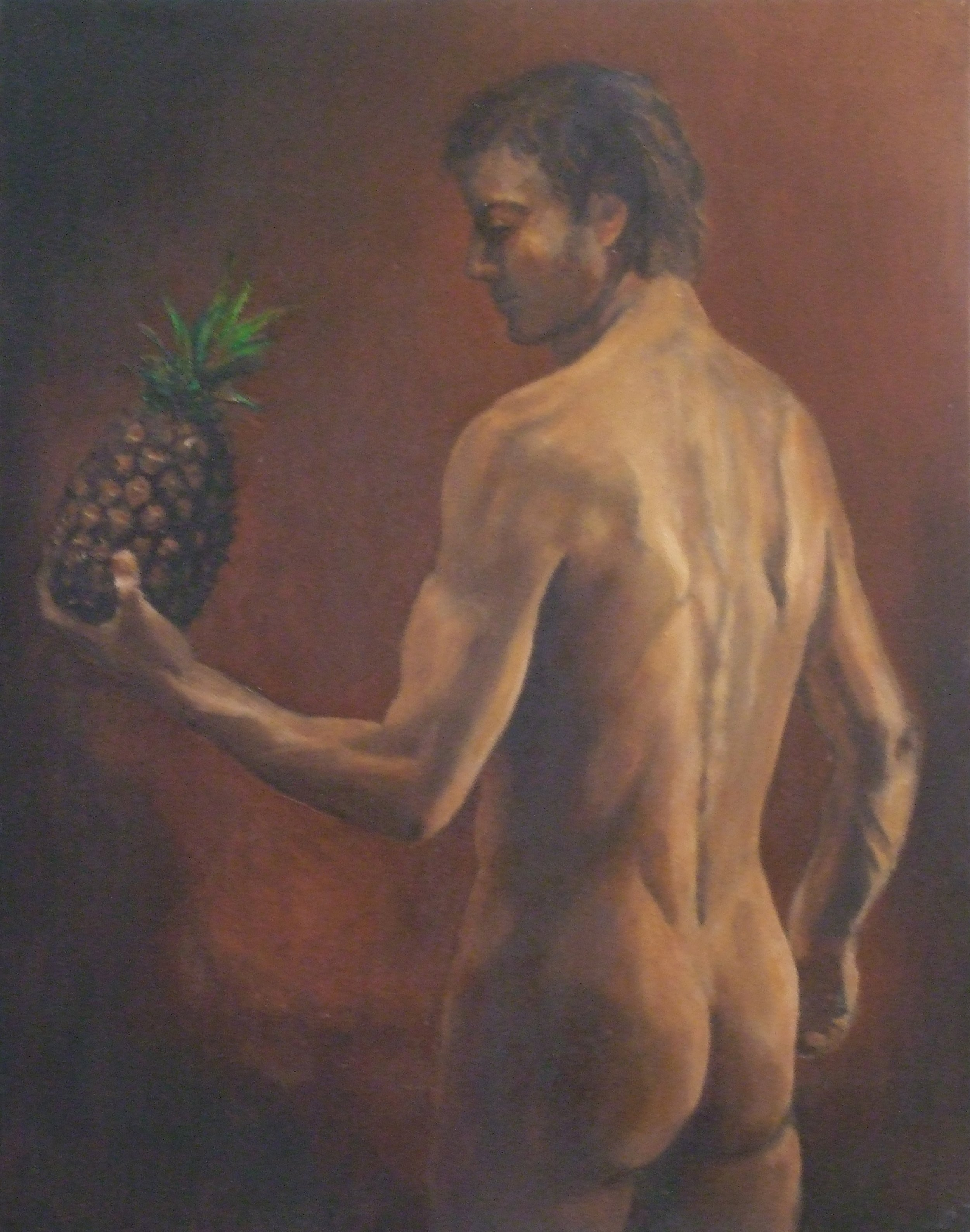 Pineapple and Man
