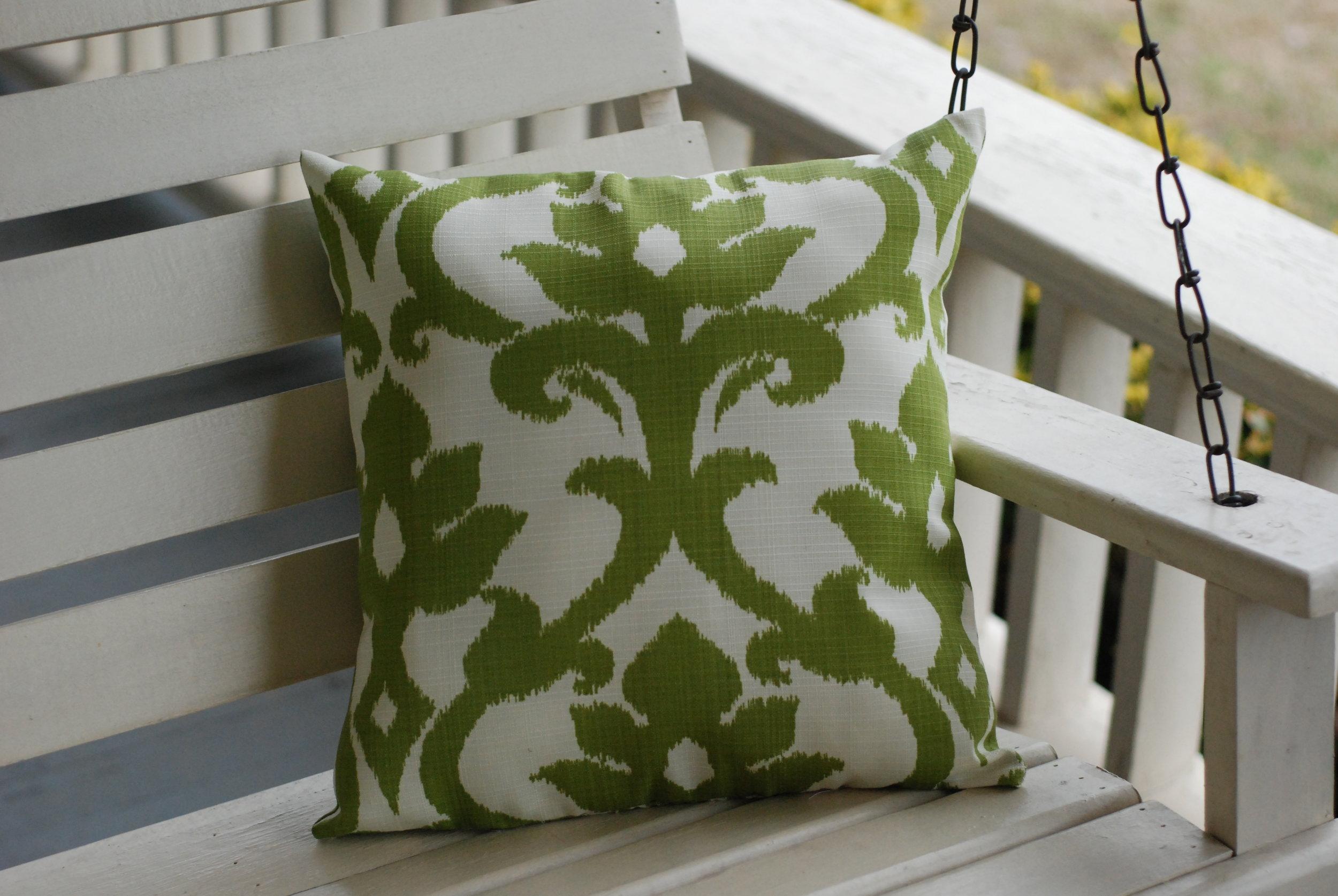 Enjoy your beautiful, handmade pillow!