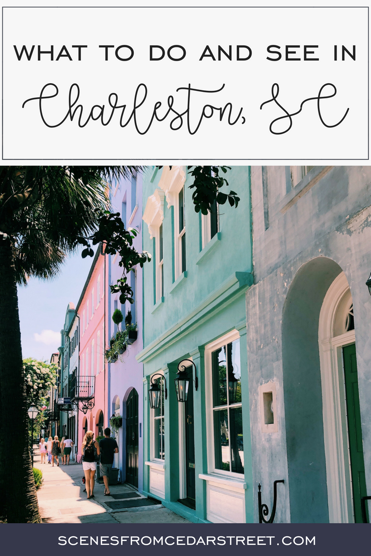 Charleston, SC Pinterest graphic