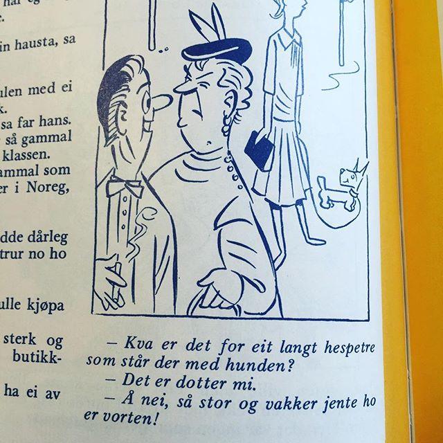 #hund #nynorsk #syttitalshumor #humor #norskbarneblad
