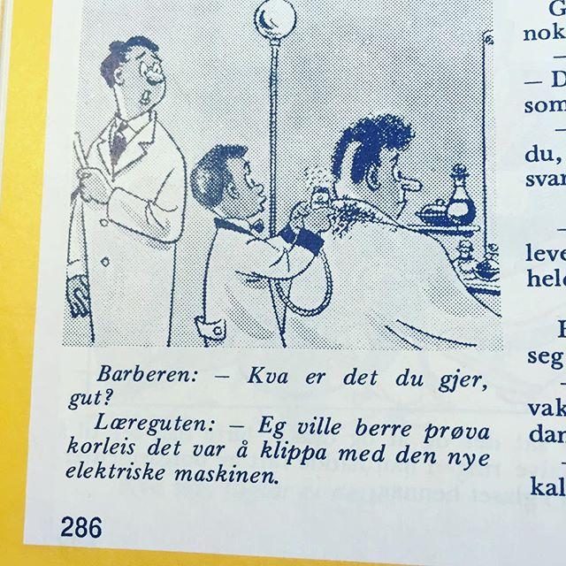 #norskbarneblad #humor #syttitalshumor #nynorsk
