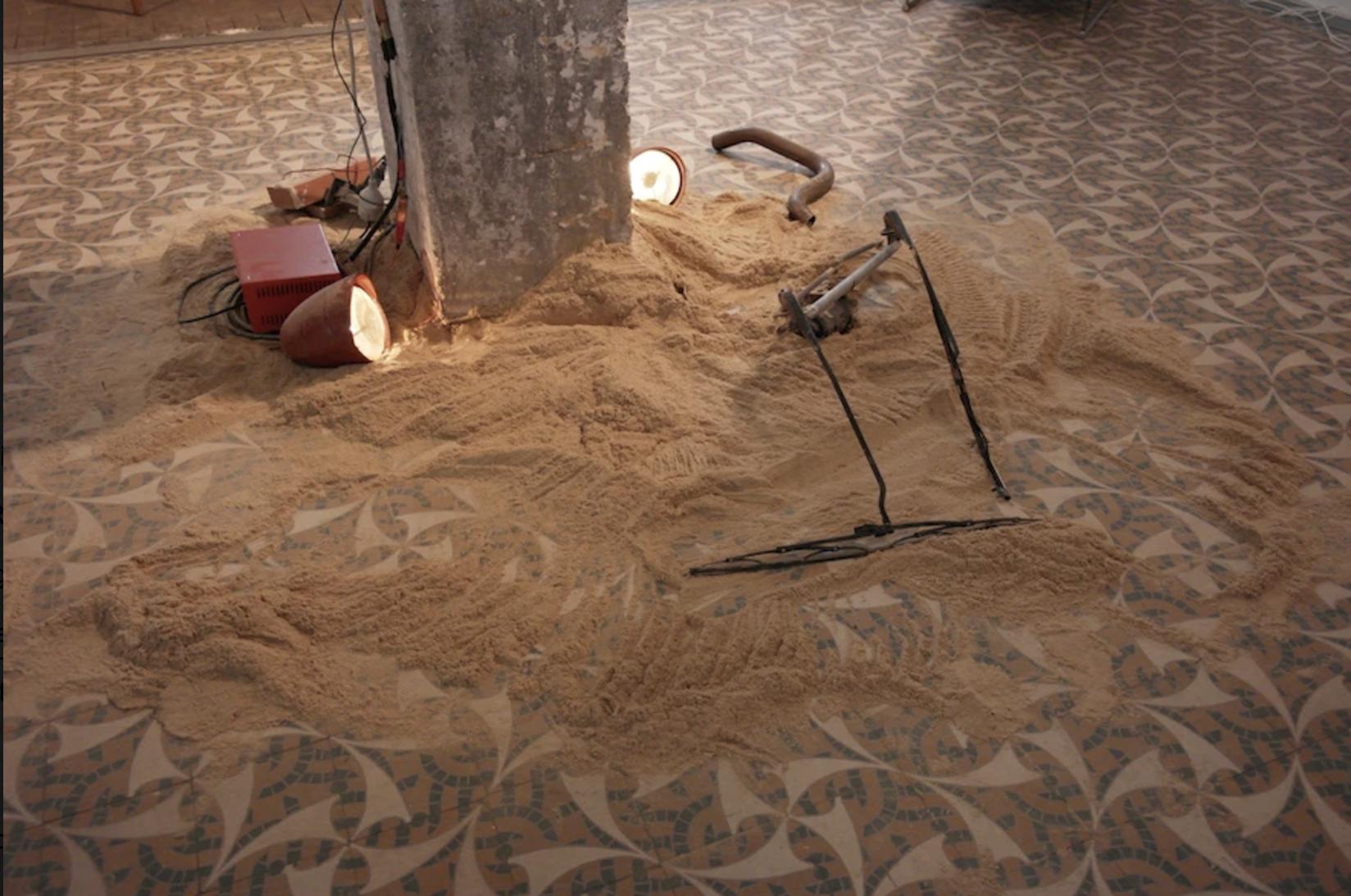 Un ballet low-tech / installation animée Vincent Pouydesseau