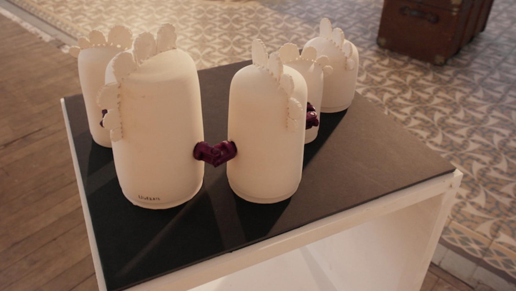 Meeting pot (version beta) / céramique, impression 3D Uulzalt
