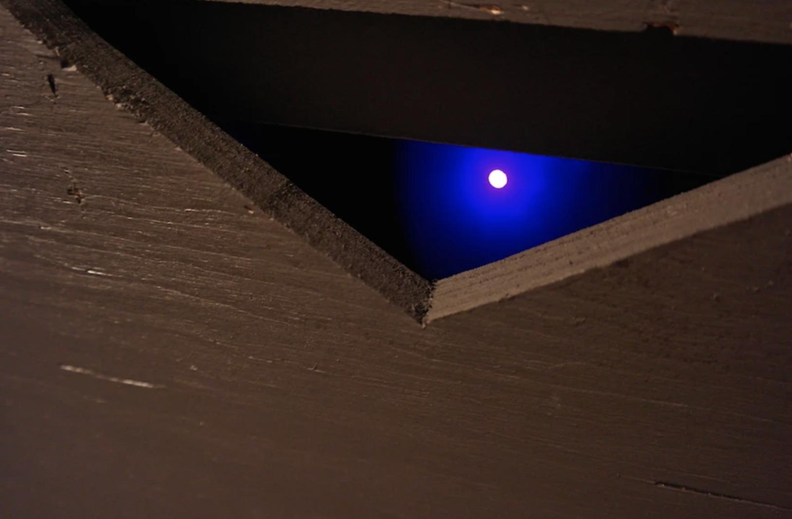 Chimère / installation lumière Bernard Szajner