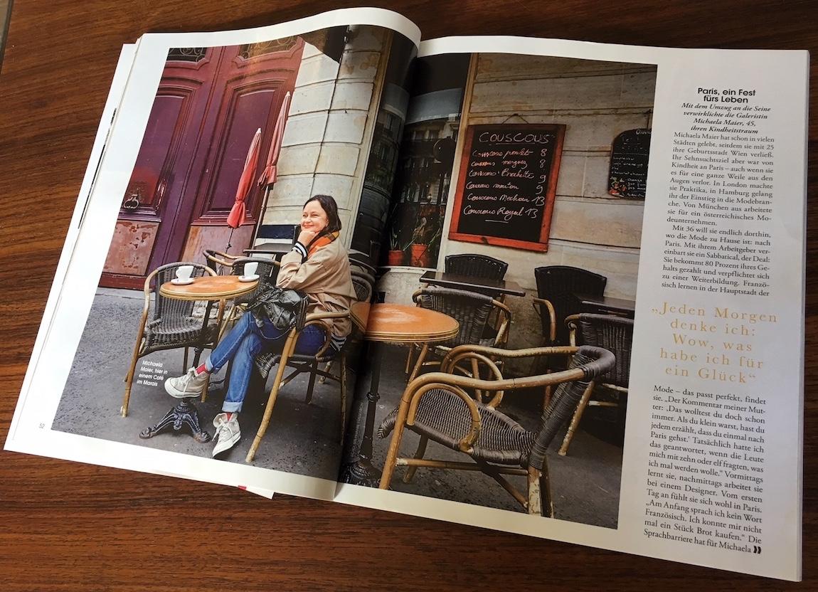 Michaela Maier / co-fondatrice mi* / mi* co-founder / interview DONNA Magazine (Allemagne / Germany)
