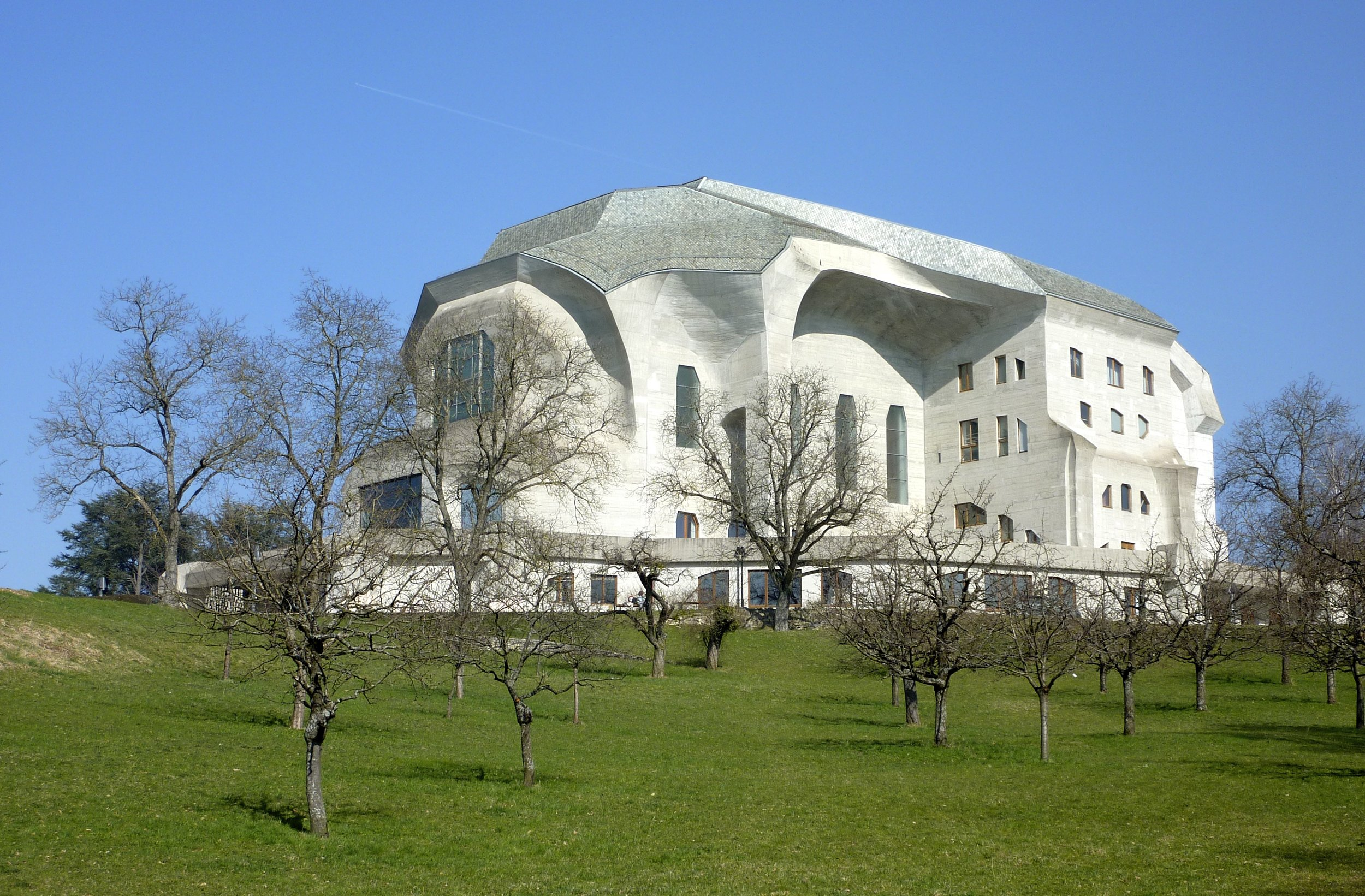 Second Goetheanum, Rudolf Steiner, Dornach, Switzerland 1924-28