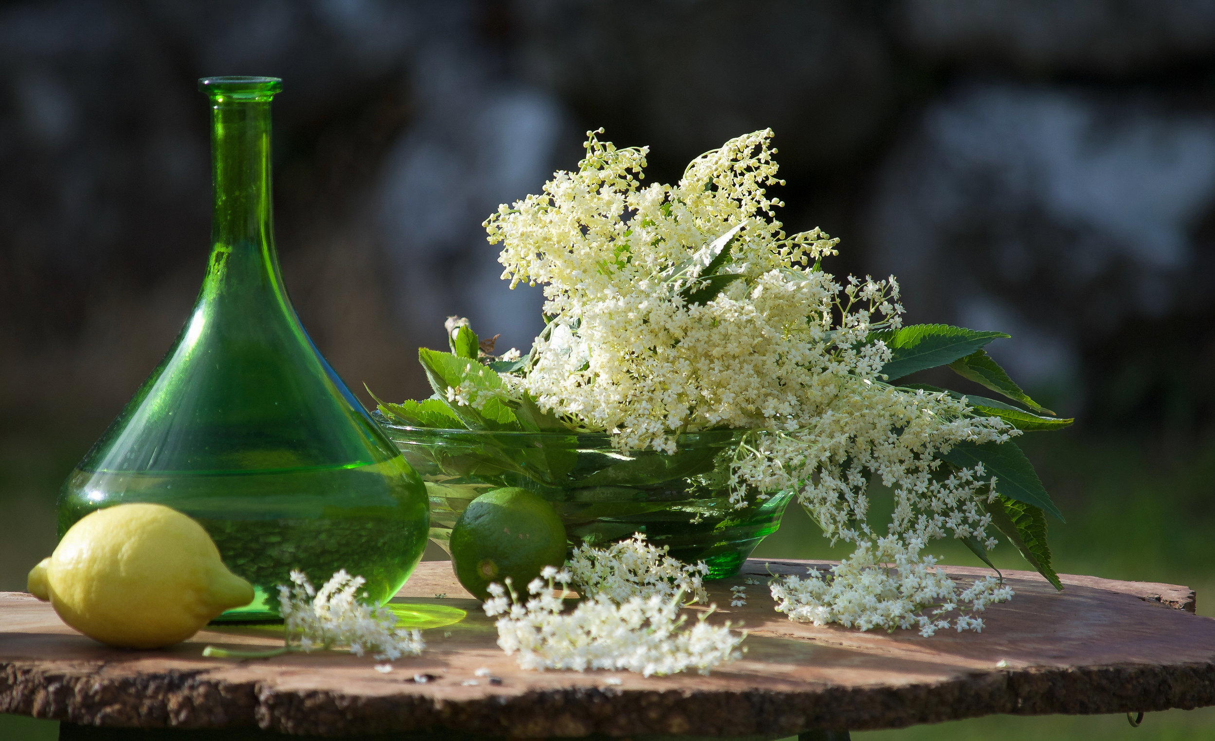 Elderflower Cordial.