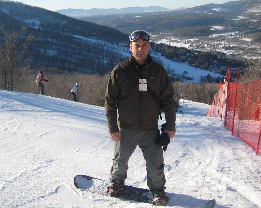 Snowboarding with the Adaptive Sports Foundation at Windham Mtn, NY