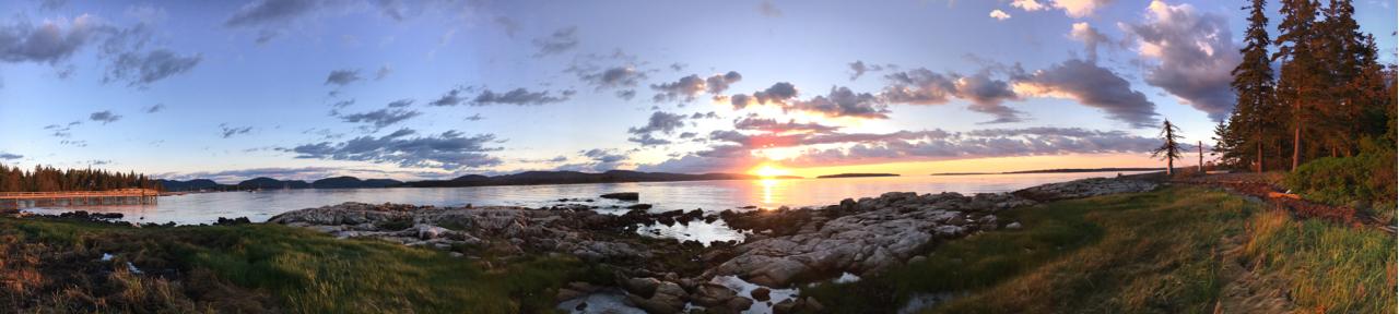 Gorgeous Acadia sunrise